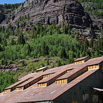 Historic Pandora Mill Ruins, Near Telluride, Colorado