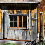 Historic Home in Mining Town of Animas Forks, Colorado